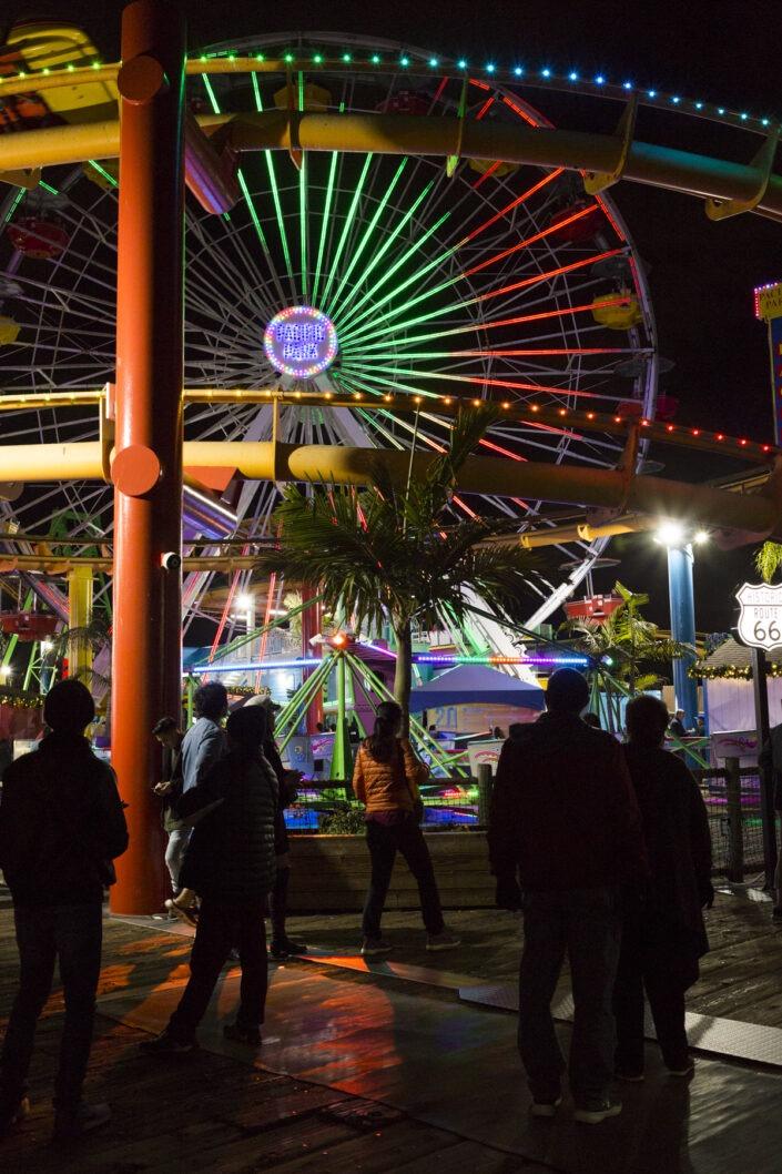 Santa Monica Pier, Los Angeles, California, usa