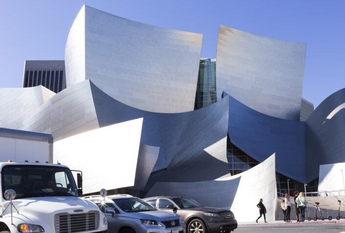 Walt Disney Concert Hall, Downtown, Los Angeles, California, usa