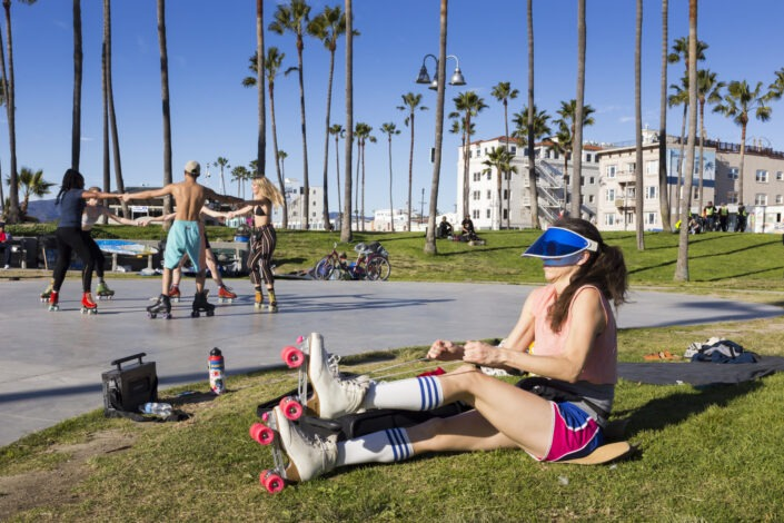 Venice beach, Los Angeles, California, usa