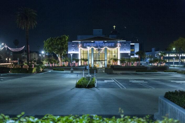Église de Scientologie, Sunset Boulevard, Los Angeles, California, usa