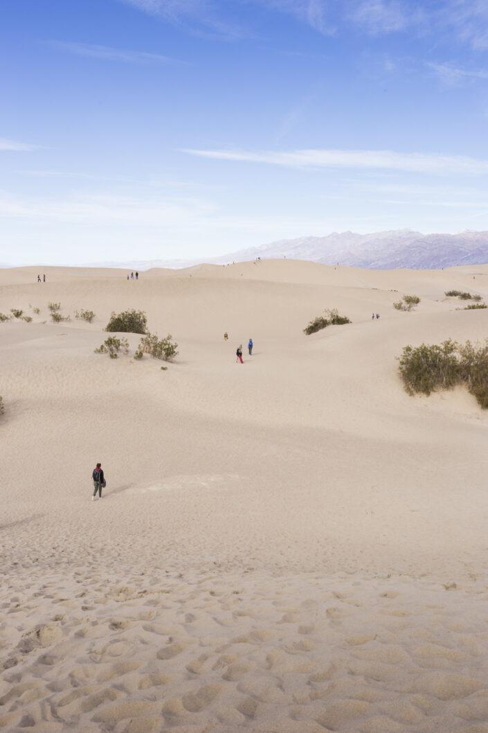 Desert Sand, Death Valley National Park, California, USA