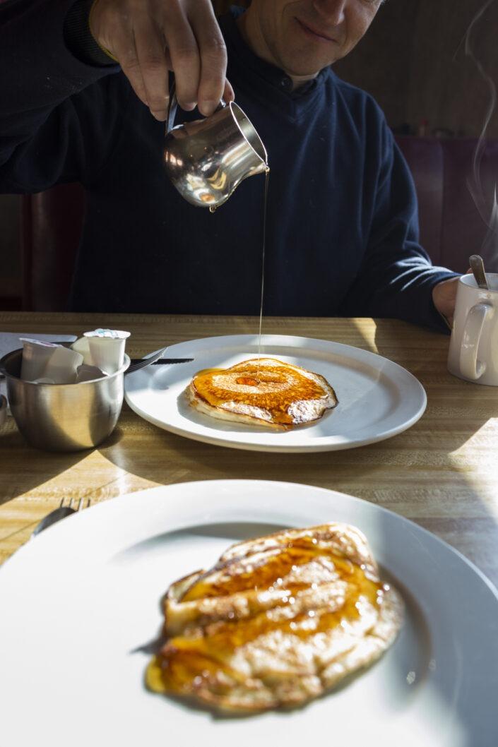 Pancakes, usa, petit dejeuner,