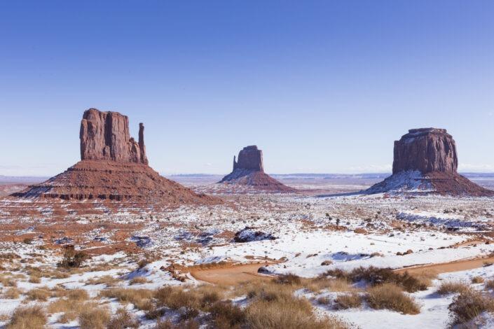 Monument Valley Navajo Tribal Park, Arizona / Utah, usa