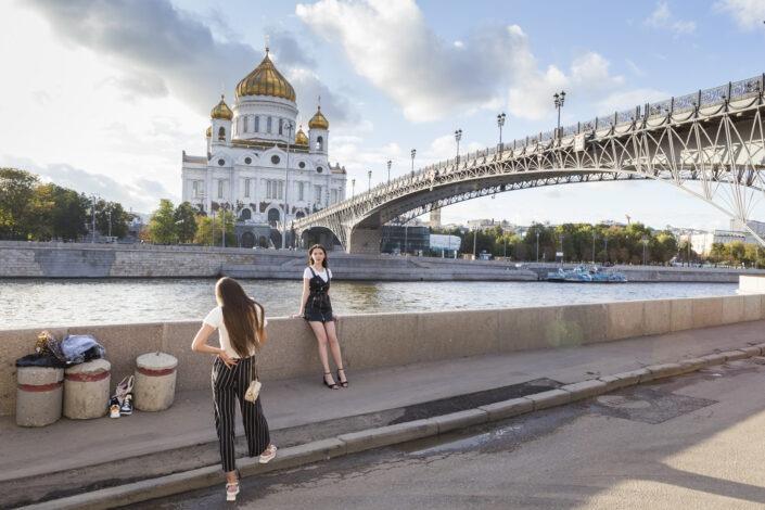 Cathédrale, Christ-Sauveur, Moscou, Russie
