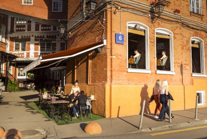 Krasny Oktyabr, quartier, branché, Moscou, Russie