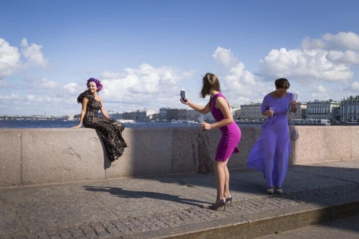 Jet-setteuse, femme, photographie, Saint-Petersbourg,russie