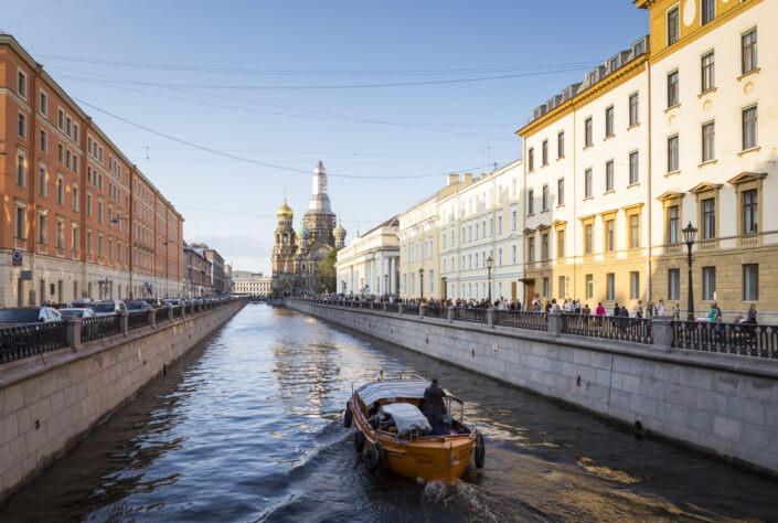 Cathédrale Saint-Sauveur-sur-le-Sang-Versé, Saint-Petersbourg, russie