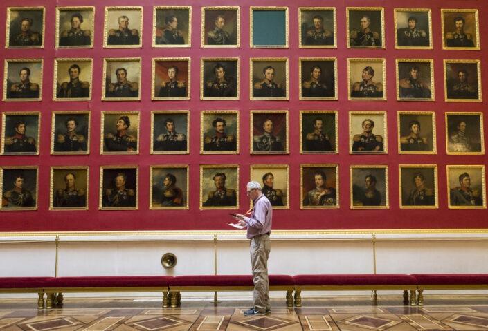 Salle,Guerre, Musee, Ermitage, Saint-Pétersbourg, Russie