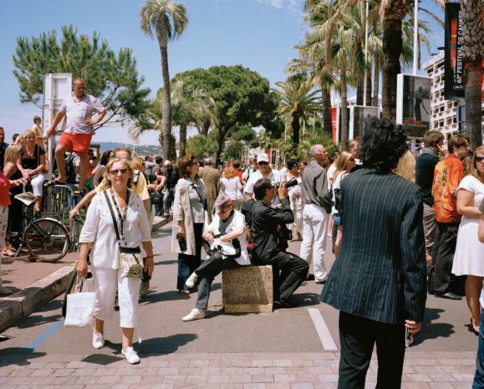 spectateur cannes festival rue croisette