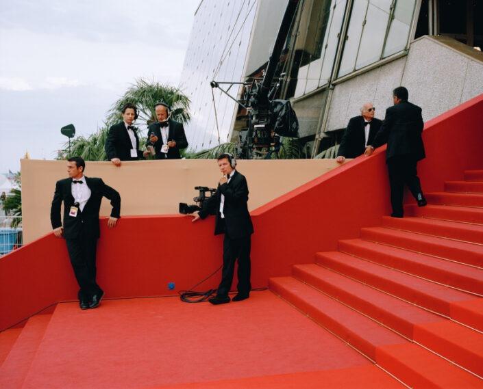 tapis rouge cannes festival présentateur camera tv
