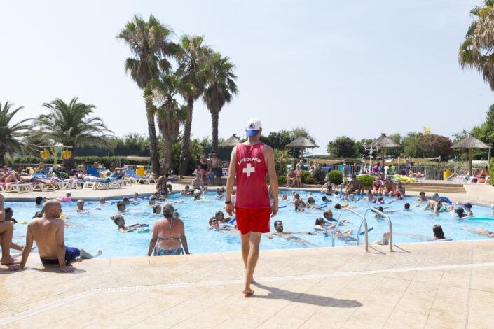 Aquagym piscine Camping village Farret