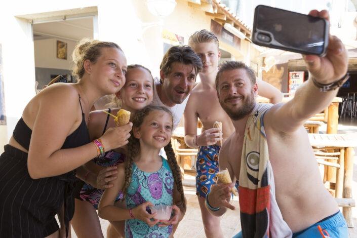 Selfie Philippe Giner, directeur du camping Farret vias-plage